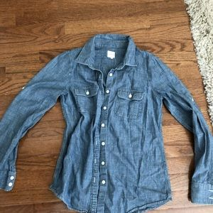J crew chambray button down